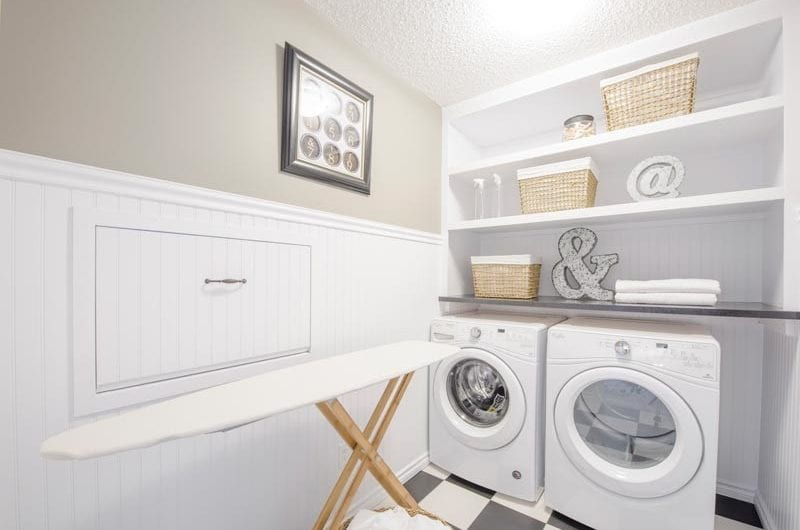 three bedroom, two and a half bathroom, two storey single family, double attached garage home in Rosenthal, Edmonton.