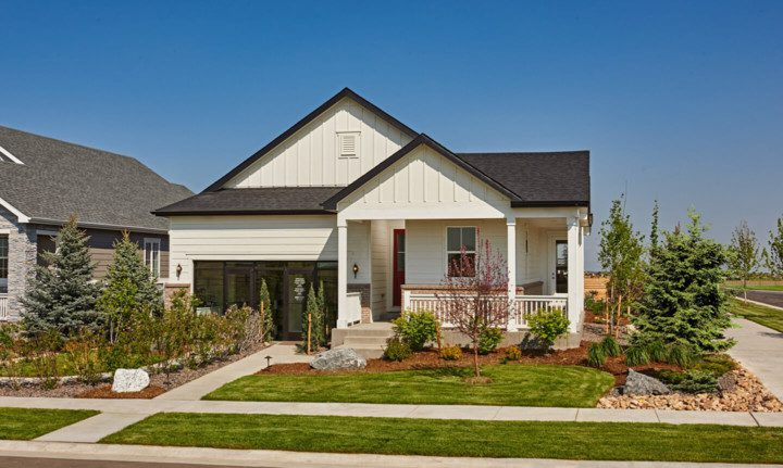 The Richmond American Homes showhome in Harmony.